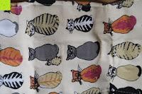 Muster: Damero Rollentasche für Gelstift Schreibzubehör gerollter Halter mit Leiwand für Buntstift Reiseorganisator-Beutel für Künstler, Mehrzweck (keine Bleistifte im Lieferumfang enthalten), 48 Löcher, Katzen