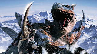 Monster Hunter PS Vita Wallpaper