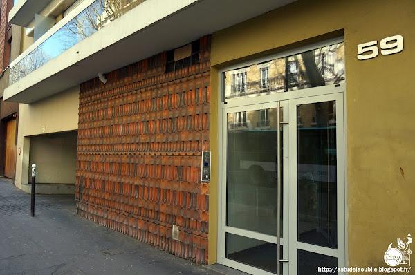 """Paris - 19éme  Modèle """"Courcelles"""" - OCE (Oeuf Centre d'Etudes)"""