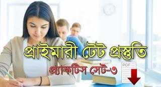 Primary Tet Practice Set PDF Dawnload in Bengali