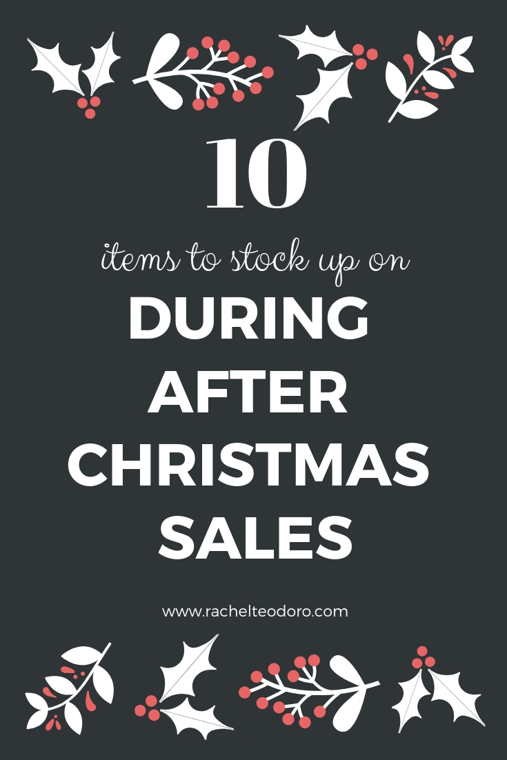 sales on christmas shopping