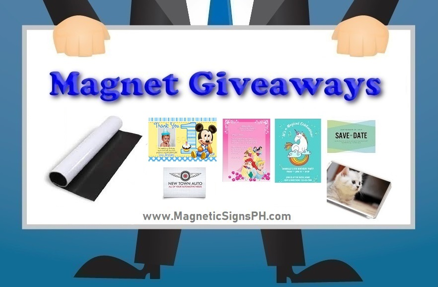 Magnet Giveaways and Souvenirs
