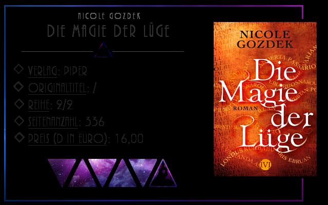 [Rezension] Die Magie der Lüge - Nicole Gozdek