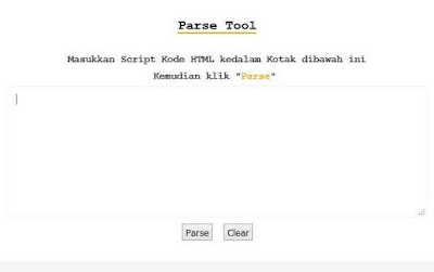 Cara Membuat Parse Kode HTML Sendiri 100% Work