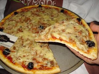 2f94c9414 شهيوات ريحانة كمال بيتزا خفيفة هشة ، ناجحة و سهلة التحضير