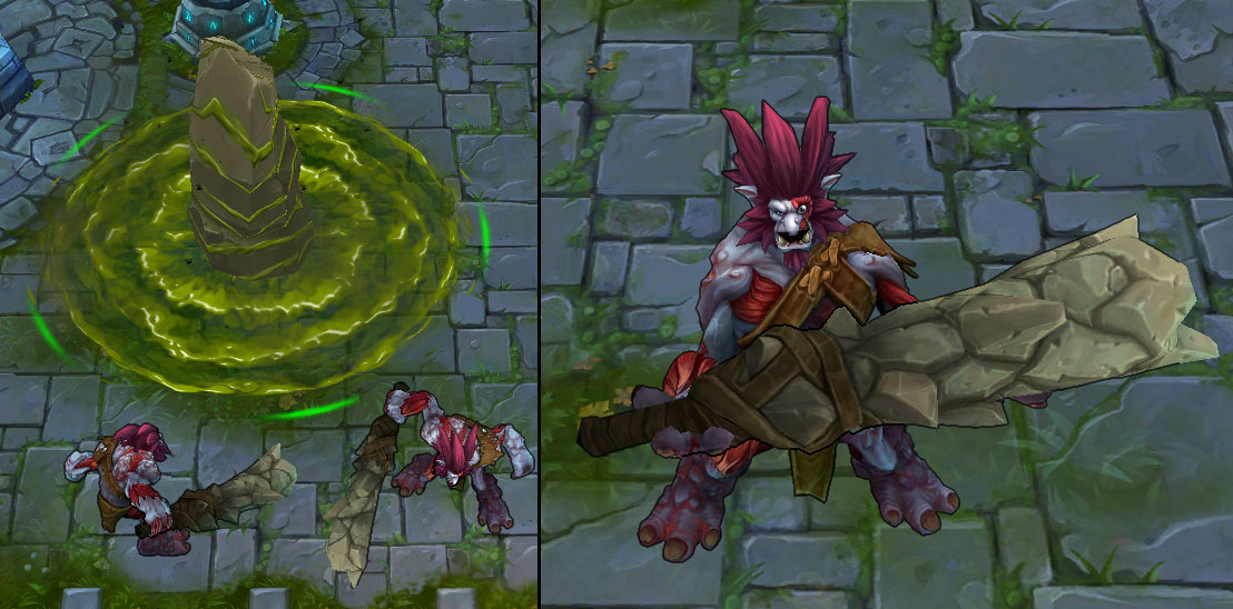 Mod Skin Traditional Trundle | Mod skin LOL Philippines