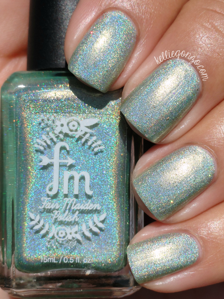 Fair Maiden Polish Antique Charm