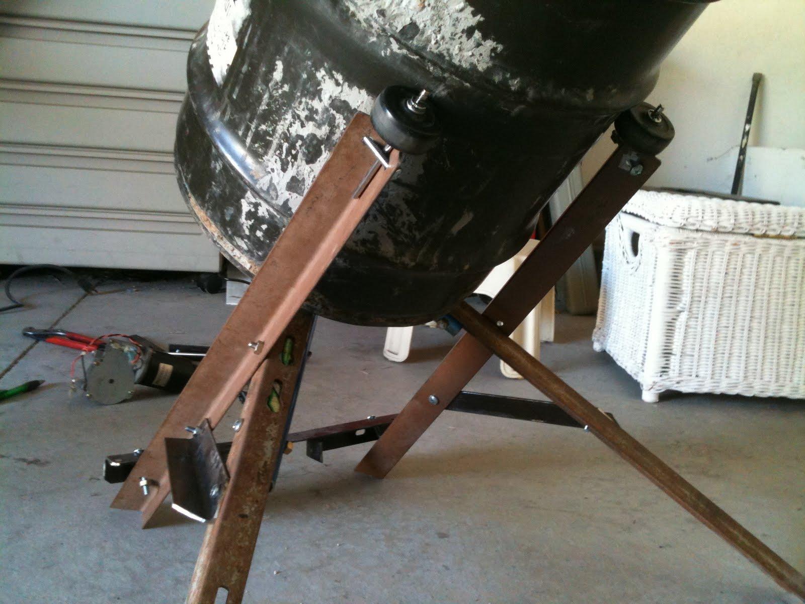 Practically Home Built: Cement Mixer 2/3