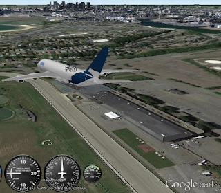 Google Earth Plane Simulator Game