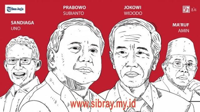 Inilah Total Harta Jokowi - Ma'ruf Amin Dan Prabowo - Sandiaga Uno