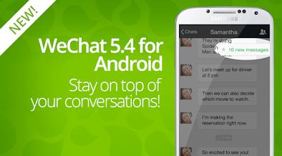 Download Aplikasi Wechat Versi 6.0.1 Terbaru 2015