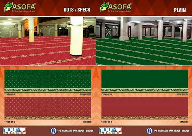 Karpet masjid Ashofa