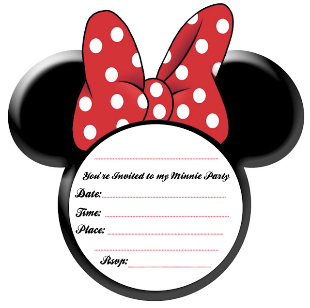 picture regarding Free Printable Minnie Mouse Birthday Invitations called Bash Relieve Minnie Mouse Occasion Guidelines and Cost-free Printables