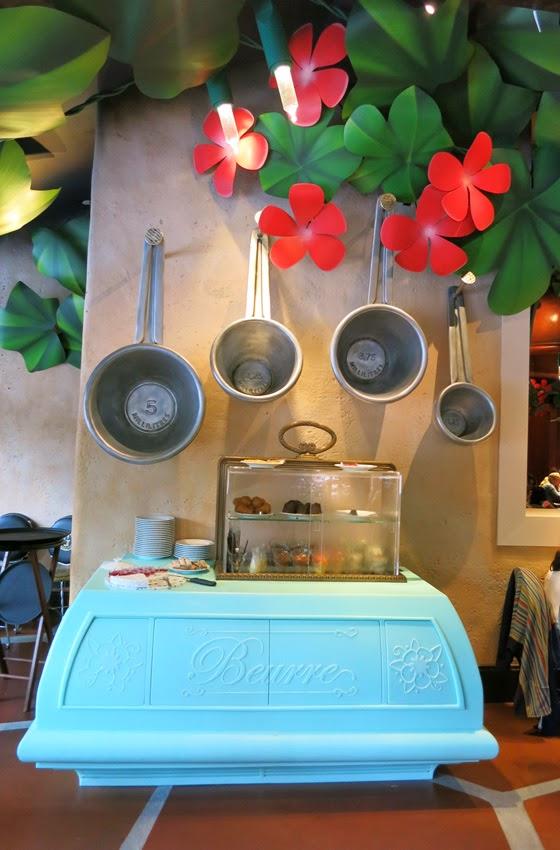 Restaurante Bistrot Che Rémy_mesa de postres