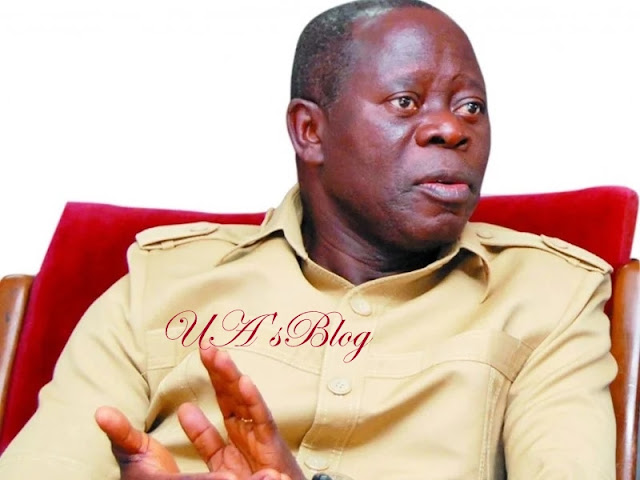What Oshiomhole told Dogara, APC caucus