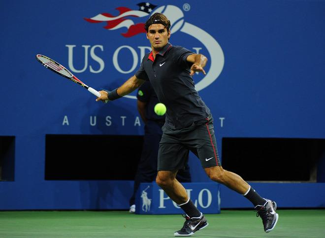 release date: fbbee f03de ... Roger Federer- Nike Lunar Vapor 8 US OPEN ...