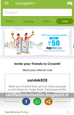 crownit refer and earn