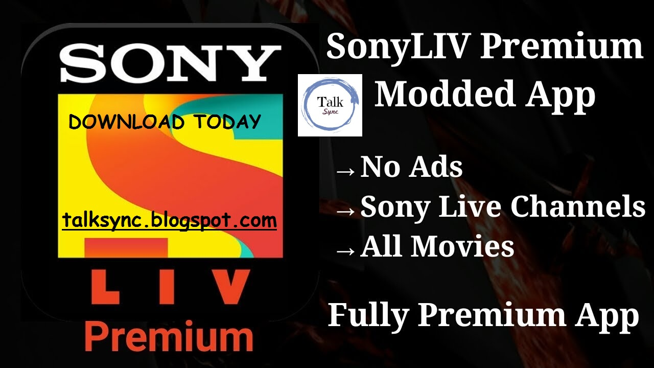 SonyLIV v4 6 7 Premium Subscribed APK - Talk Sync