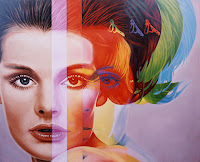 """Spectrum"" de Richard Phillips, 1998. Cuadros de Gossip Girl"