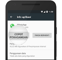 Tutorial tips Memasang Ulang Whatsapp di Android