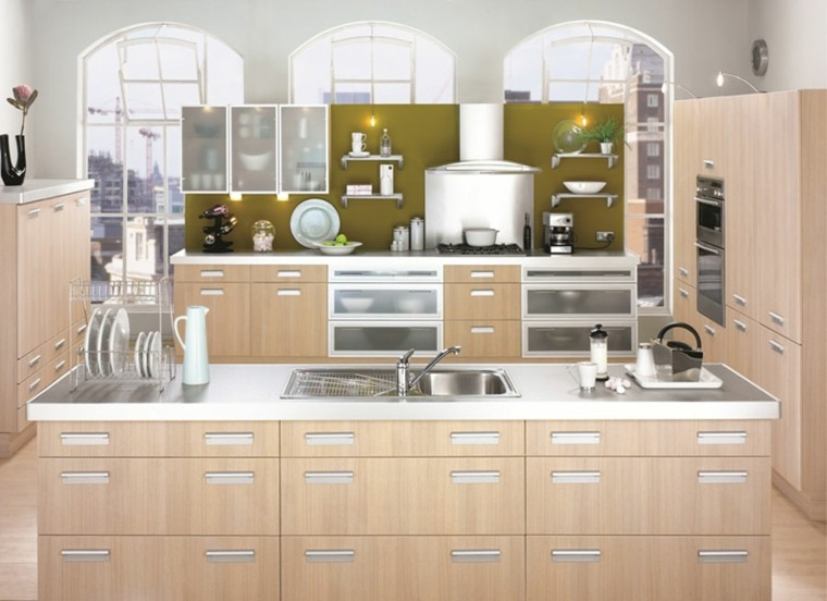 Modern Kitchen Remodel Pictures With Oak Cabinets Ideas 12