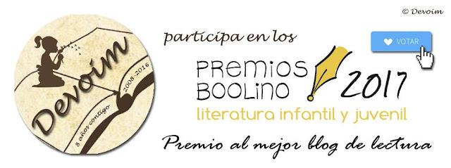 Premios  Boolino para blogs 2017