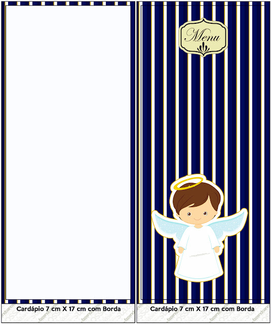 Brunette Angel Boy: First Communion Free Printables.