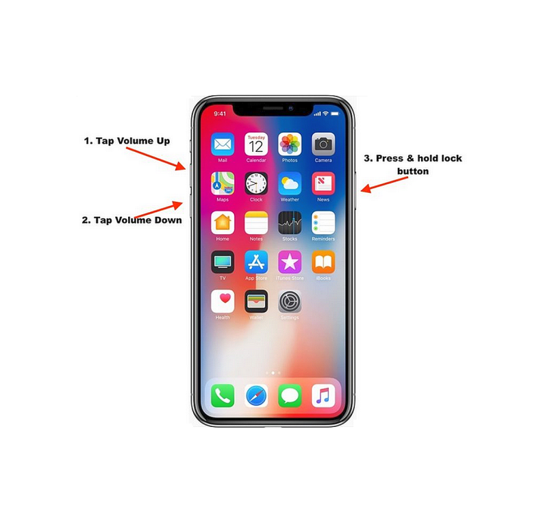 How To Force Reset IPhone X