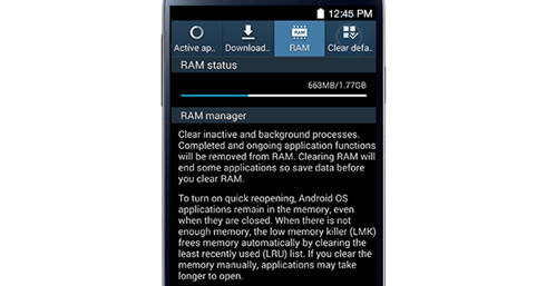 Samsung Galaxy S4: Recent Applications and Task Manager - Droidista