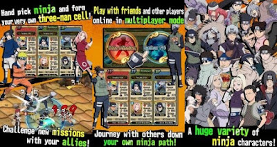 Download Naruto Ultimate Ninja Blazing Full Unlocked MOD Unlimited Cash v1.5.5 Apk Android Terbaru 2017 Gratis