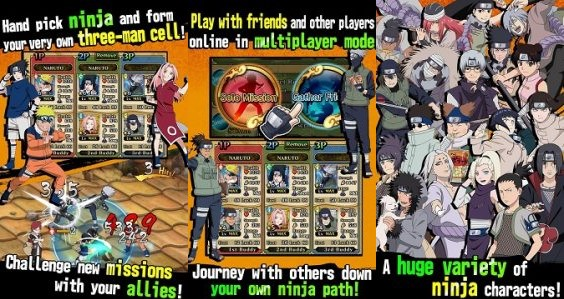 Naruto Ultimate Ninja Blazing MOD Unlimited Money v1.6.1 Apk Android Terbaru 2017