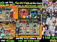 Naruto Ultimate Ninja Blazing MOD Unlimited v1.6.1 Apk Android Terbaru 2017