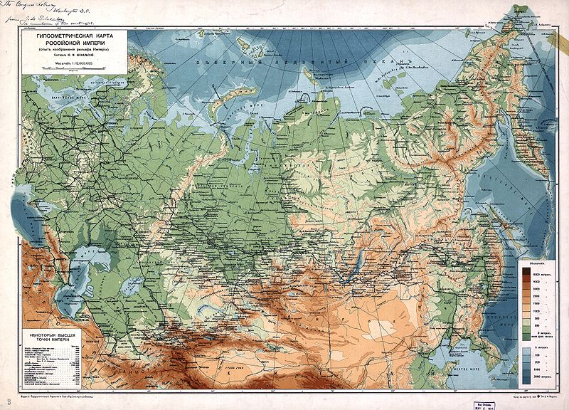 The Russian Empire Numbered Approximately 61