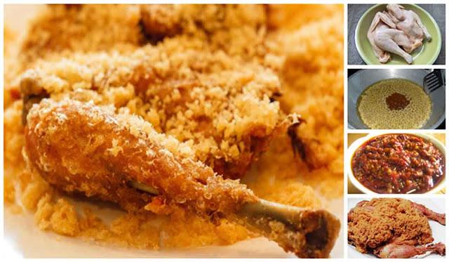 Resep Ayam Goreng Kremes Ala Ny. Suharti