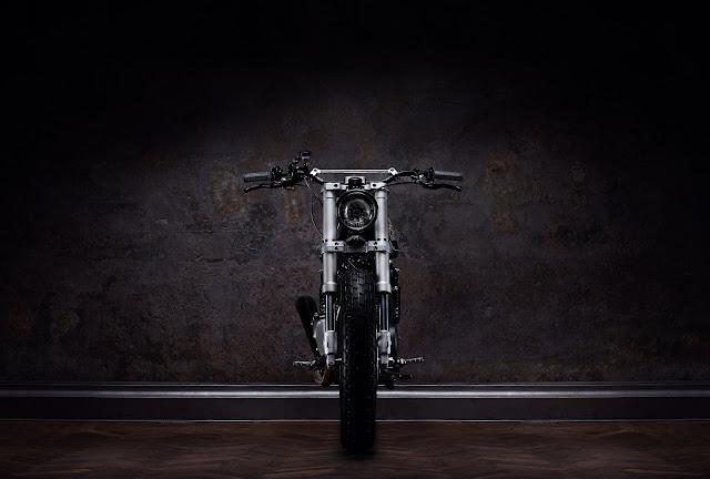 Suzuki GN400 By Ventus Garage Hell Kustom