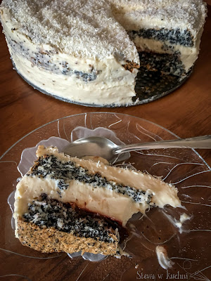 Tort makowa panienka