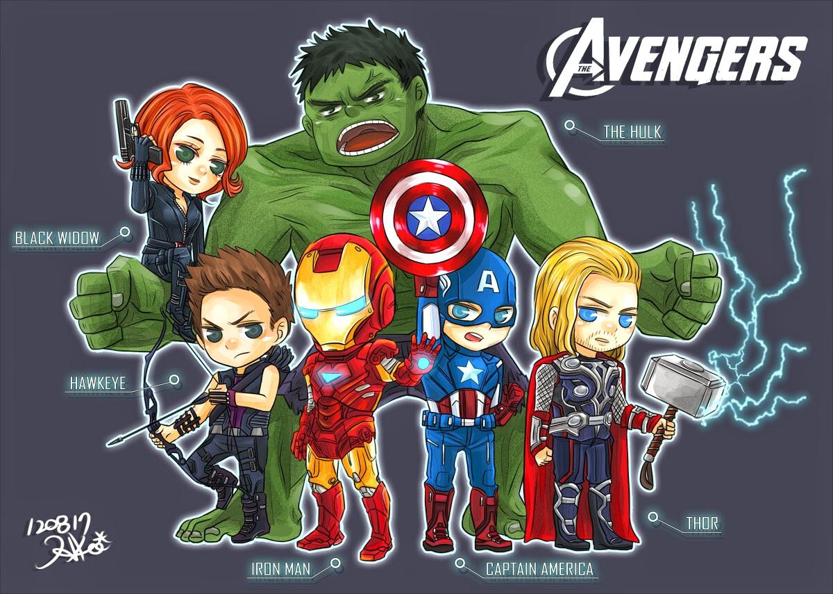 Kumpulan Gambar Baru The Avengers  Gambar Lucu Terbaru