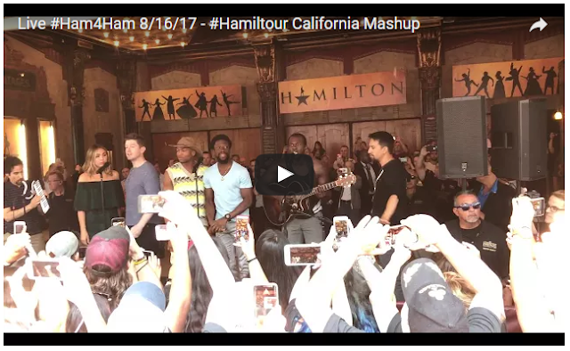 Hamilton tour brings California-themed #Ham4Ham medley to Hollywood