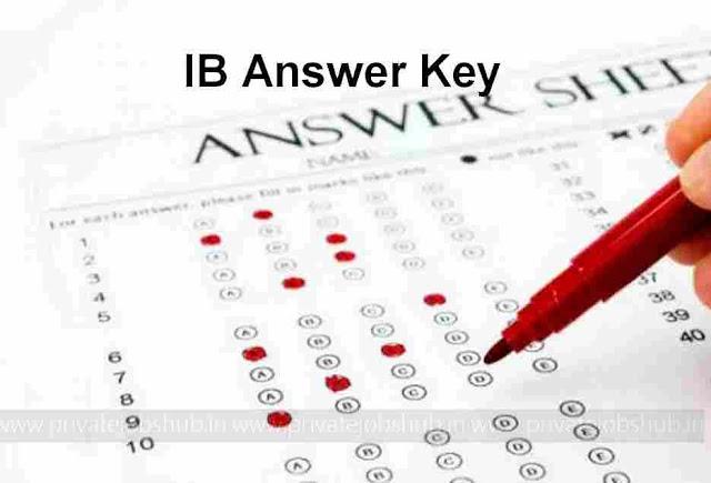 IB Answer Key