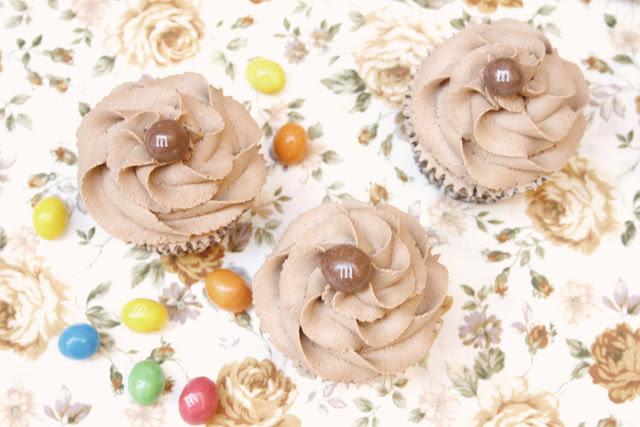 Cupcakes de Caramelo... con M&M's opcionales!!! :)