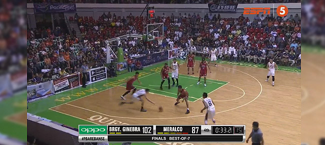 Ginebra def. Meralco, 102-87 (REPLAY VIDEO) Finals Game 1 / October 13