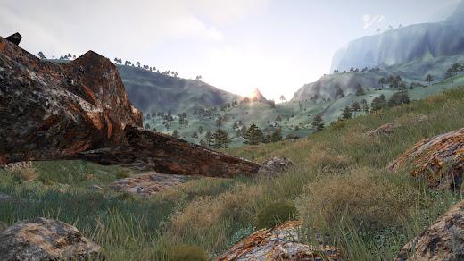 Arma3用Mountain Wilderness Terrain MOD