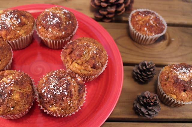 apple-nuts-muffins, muffins-de-manzana-y-nueces
