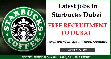 Latest jobs in Starbucks Dubai