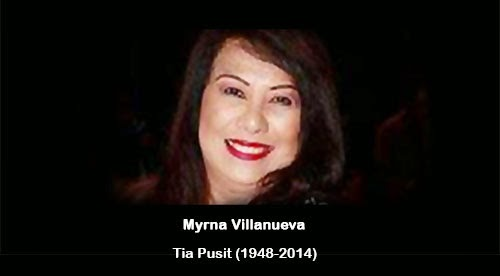 Tia Pusit died at 66-years-old