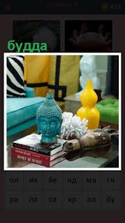 651 слов на книгах стоит голова будды 5 уровень