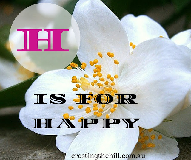 The A-Z of Positive Personality Traits - H is for Happy
