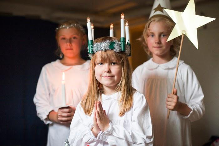 Resultado de imagen para santa lucia navidad