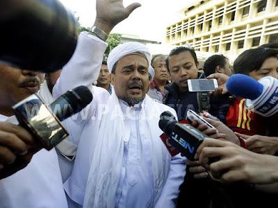 Habib Rizieq Mengaku Tidak Kenal Dengan Firza Husein