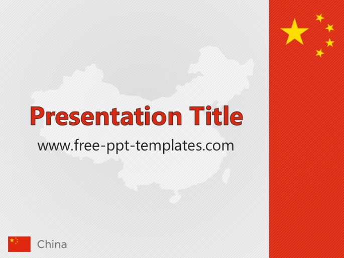 China ppt template toneelgroepblik Image collections